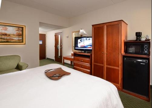 Hampton Inn Raleigh/Town Of Wake Forest - Wake Forest - Bedroom